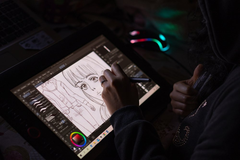 So, what is the best device to use for digital art or make an anime girl